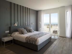 Habitación Suite del hotel boutique en Valencia, Cama de Matrimonio