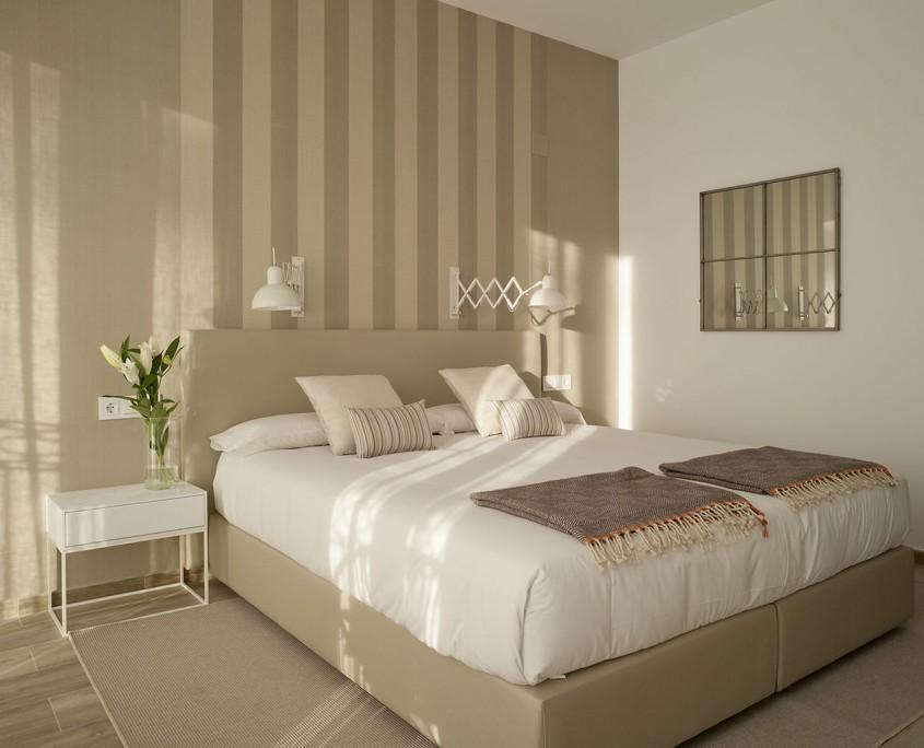 Doble matrimonial o 2 camas terraza restaurante hotel - Decoracion habitaciones de hotel ...