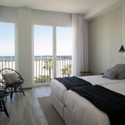 Habitación doble con vistas al mar de Valencia