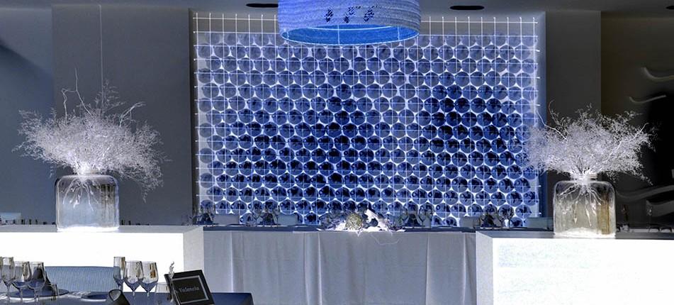 salon de boda mesas
